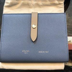 céline strap passport wallet